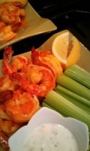 On-plan Buffalo Shrimp? Yes please! Check out the #delicious and easy #recipe here!