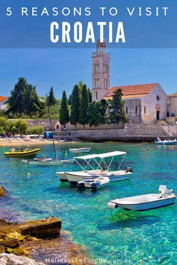 5 reasons to visit Croatia