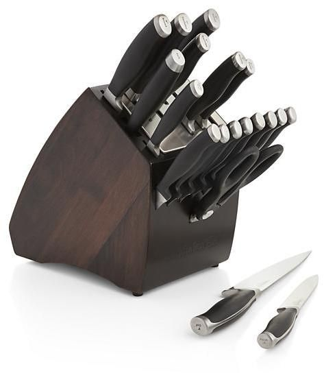 Calphalon Contemporary 20-Piece Knife Block Set with SharpINTM Technology
