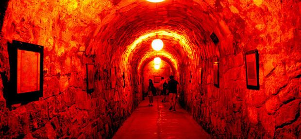 The ancient caves beneath Buda Castle have a colorful and sometimes disturbing history.