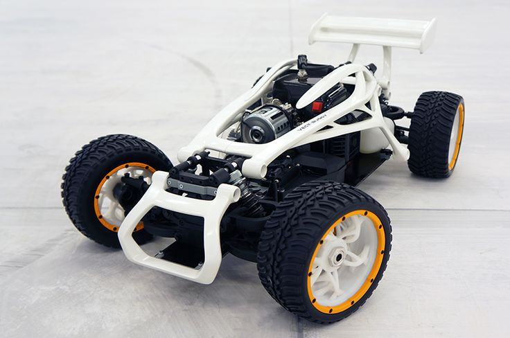 3D printed RC buggy - Read the blog