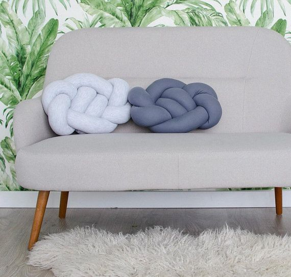 Sofa Knotted Pillow at