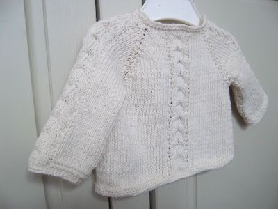 Top down pullover - also pattern as cardigan - use her generic pattern abd add cable pattern on sleeves and down front