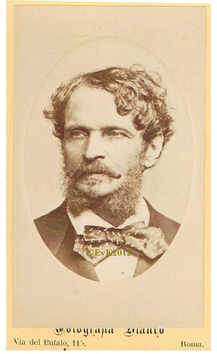Graaf Gyula Andrássy (1823-1890). Oostenrijks-Hongaars politicus.