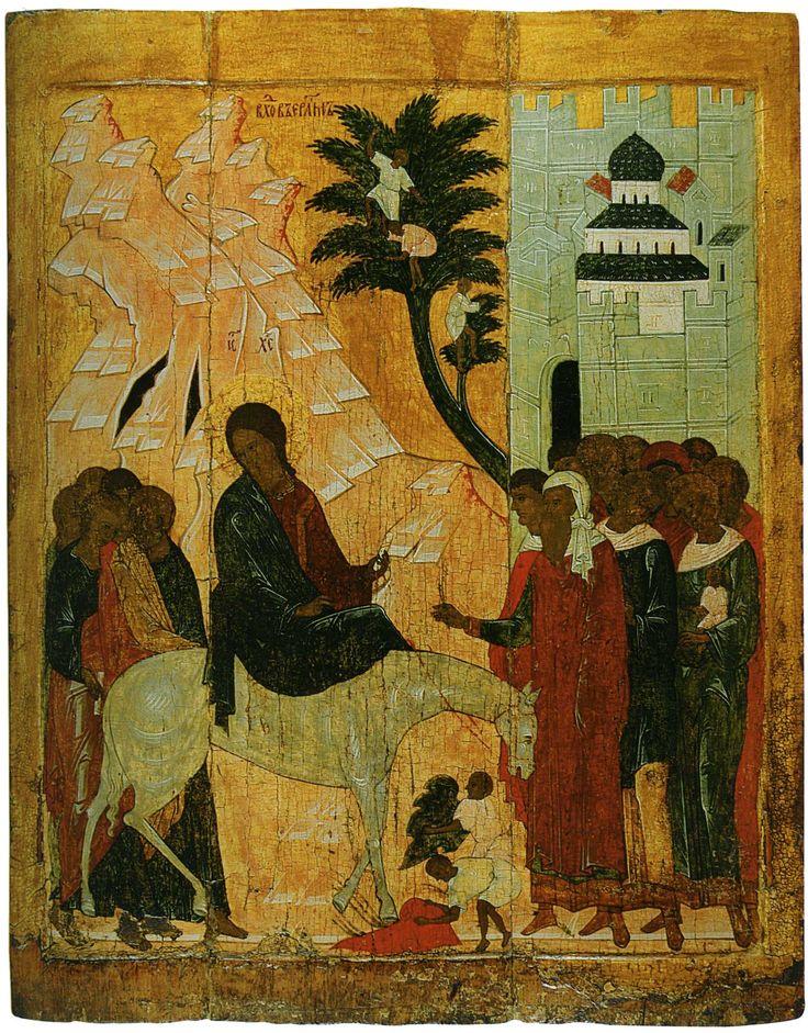 L'entrata in Gerusalemme. Prima metà del 16 ° secolo