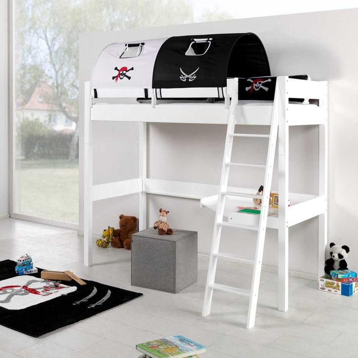 kinderhochbett design. Black Bedroom Furniture Sets. Home Design Ideas