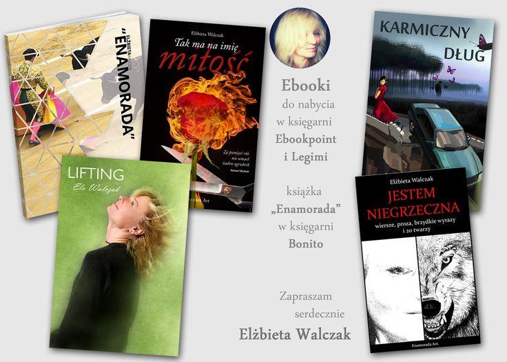 Ebooki Eli Walczak można zakupić w księgarniach Ebookpoint i Legimi