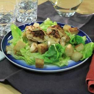 Vitlöksstekt kyckling med pesto