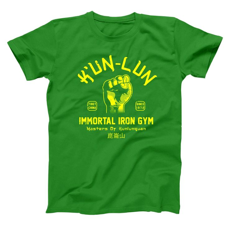 Kun Lun Iron Gym Men's T-Shirt