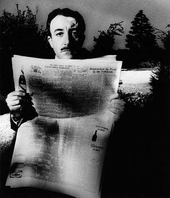 Peter Sellers, 1963 by Bill Brandt
