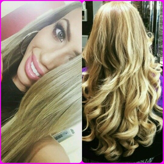 Geordie Shore star Holly Hagan revealed a super glossy hair transformation the other day, and we can't stop staring!