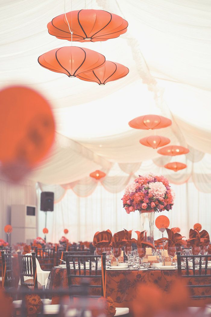The red color for the wedding seems to be catching my eye. Red is my favorite color, so I might be basing some things around this color. Red is the color of warmth, fire, excitement and passion according to Feng Shui rules so I believe it's a good color to host as the primary color theme~
