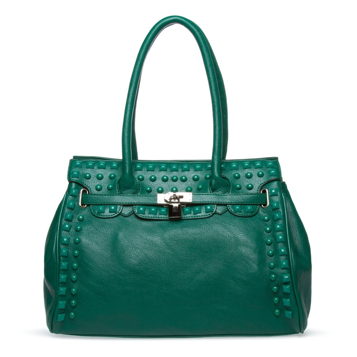 Fall ready.: Color Studs, Handbags Lovers, Accessory, High End Handbags, Bag Shoedazzle, Boodifool Bags, Casual Sexy Style, Green Colors, Handbags One