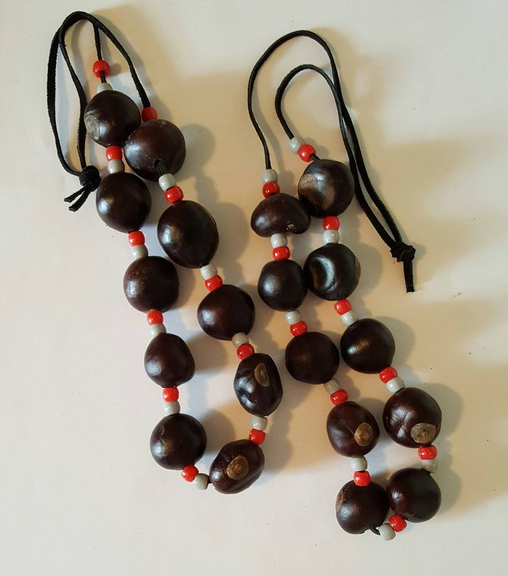 Buckeye Necklace - Ohio State - Handmade - Game Day Necklace - Buckeye Nut  - OSU Necklace - Ohio State Buckeyes - Buckeye Accessory by DebsDooDadsShop on Etsy