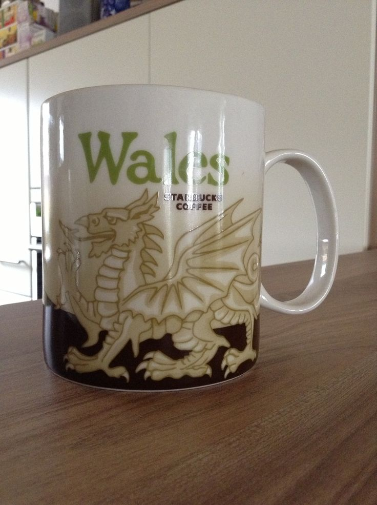 Wales Starbucks City Mug