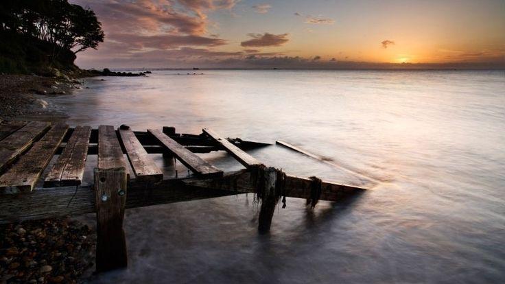 The best beautiful British beaches- Priory Bay, Isle Of Wight
