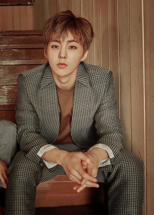 Still getting to know EXO, but Xiumin caught my eye the fastest