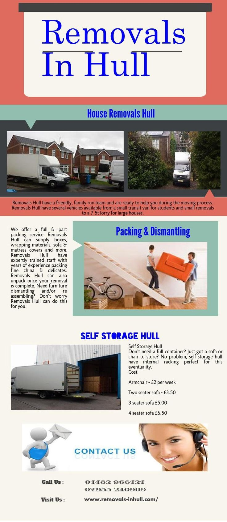 Removals Hull have a solution to your every removal need. Bought something to big for your car from a department store or online? We can help.