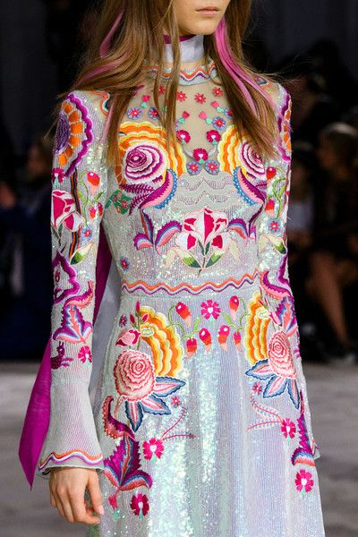 Temperley London at London Fashion Week Spring 2017 - Details Runway Photos
