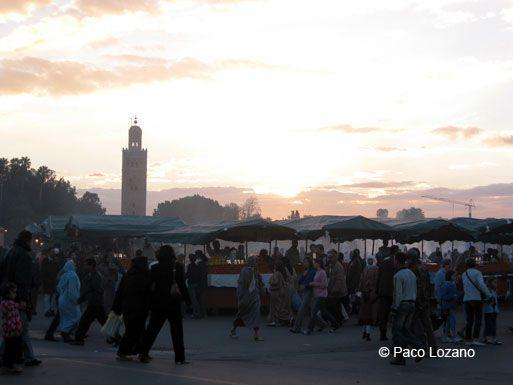 Djemaa el Fna, Marrakech, Morocco : World Travel Pictures