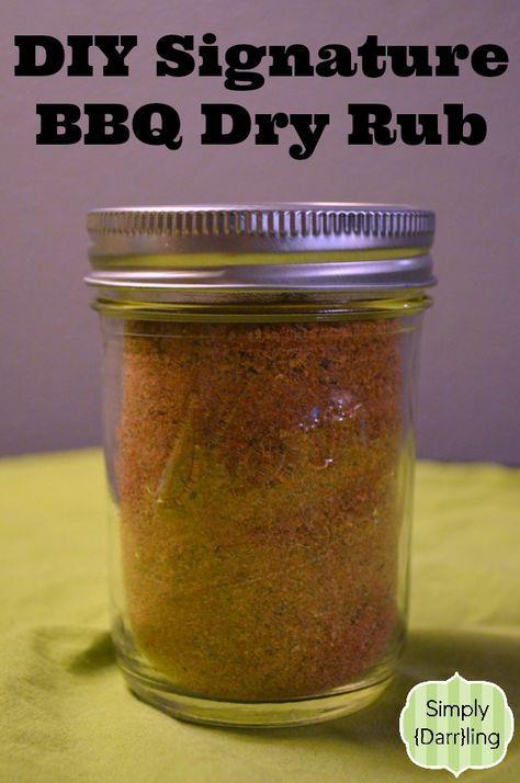 Create a Signature BBQ Dry Rub - perfect gift for guys! #ADIYChristmas #gifts #bbq #Christmas