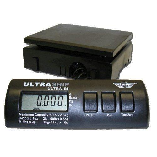 UltraShip 55 lb. Digital Postal Shipping & Kitchen Scale  #MyWeigh