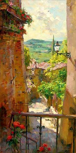 Heart of the Village, by Michael and Inessa Garmash