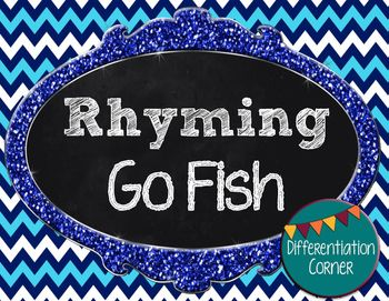Rhyming Word Game *Go Fish Style*
