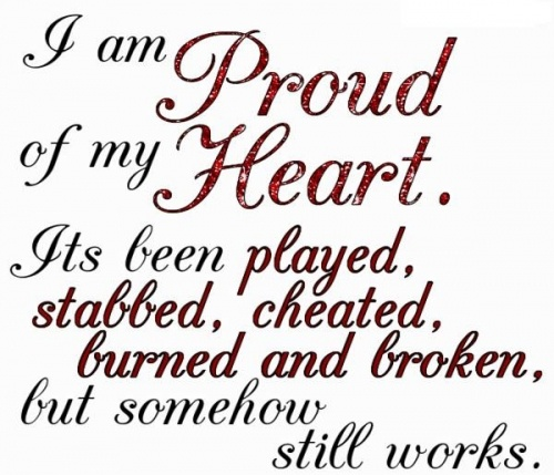 cute broken heart quotes