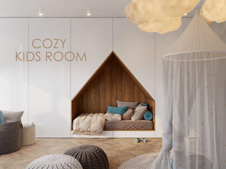 Bekijk dit @Behance-project: 'COZY KIDS ROOM | MAY 2017' https://www.behance.net/gallery/52210939/COZY-KIDS-ROOM-MAY-2017