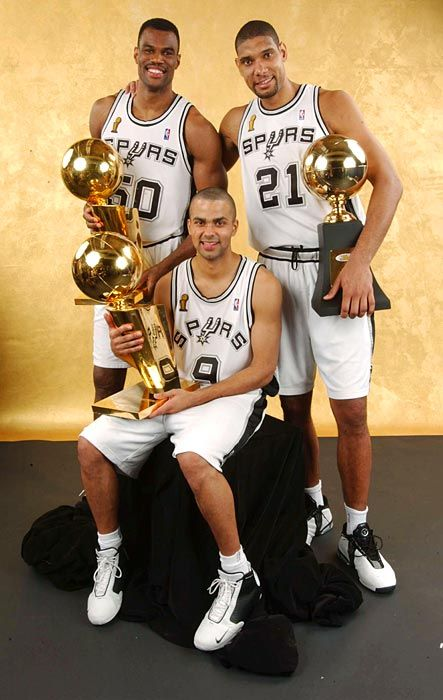 Tony Parker, Tim Duncan , David Robinson