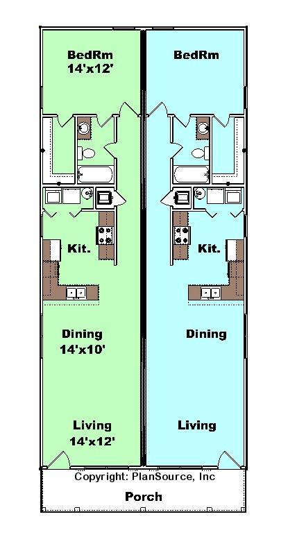 51 best planos images on Pinterest House blueprints, Small houses - plan maison plain pied 80m2