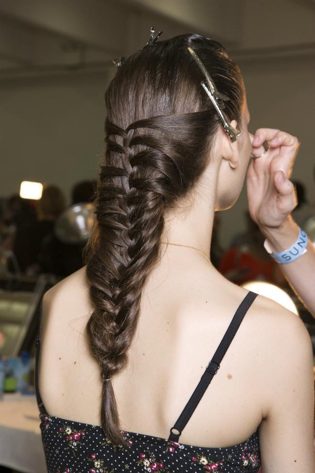 mermaid braid backstage