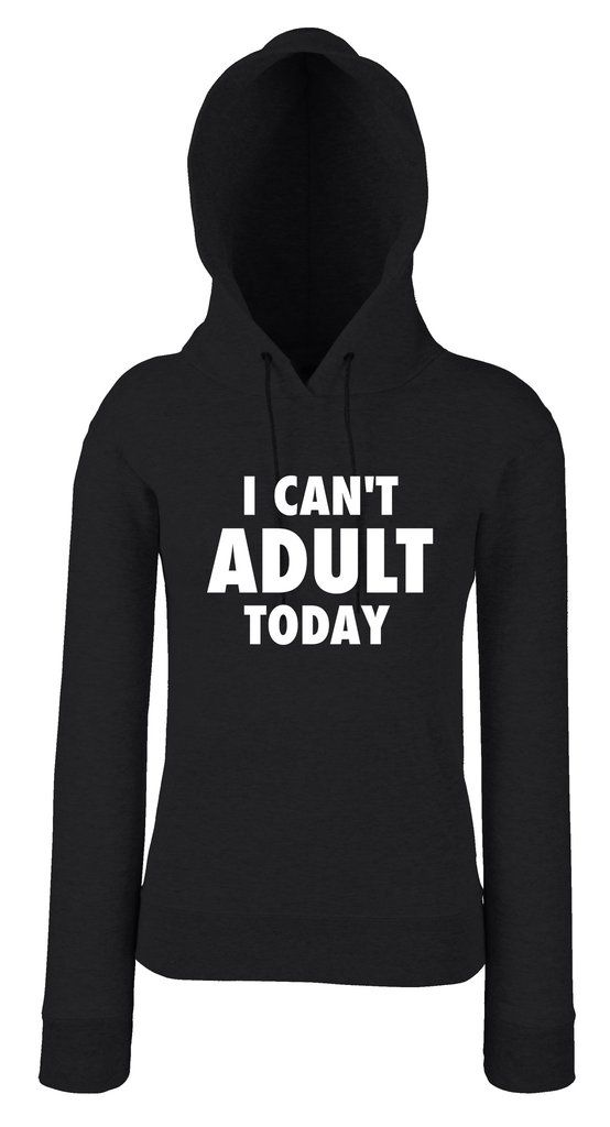 I CAN'T ADULT TODAY női pulóver - SARCASTIC FANTASTIC