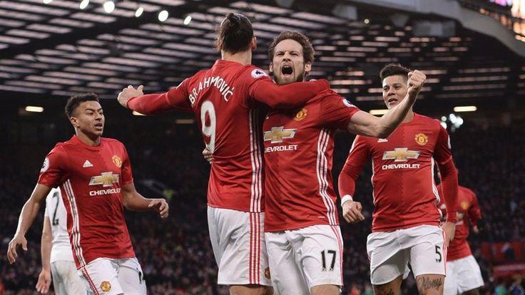 Daley Blind celebrates putting United ahead