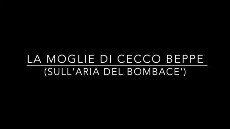 Palle girate e altre storie: «La moglie di Cecco Beppe»