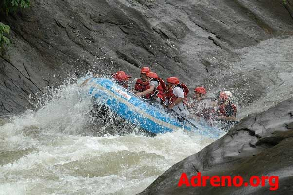 Adreno uses Hyside and Gumotex brand rafts, the official raft brand used in European whitewater rafting championships. http://adreno.org/WhiteWaterRafting.html