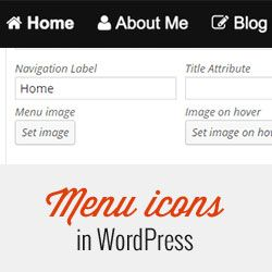 Ever wanted to add images to your navigation menu items in WordPress? Learn how to add image icones with navigation menus in WordPress.