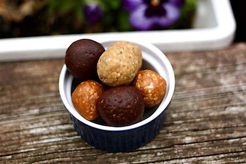 3 different recipes for protein balls...tried 2 of these recipes with some alterations