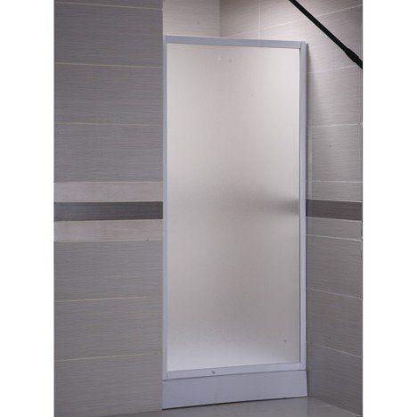 Paroi latérale fixe Primo verre granité blanc 70 cm