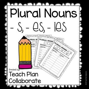 Practice changing singular nouns to plural nouns with this worksheet packet! Perfect for small groups, morning work, or literacy centers.