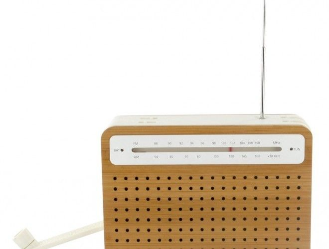 Safe Bamboo Radio by Design Lexon Studio