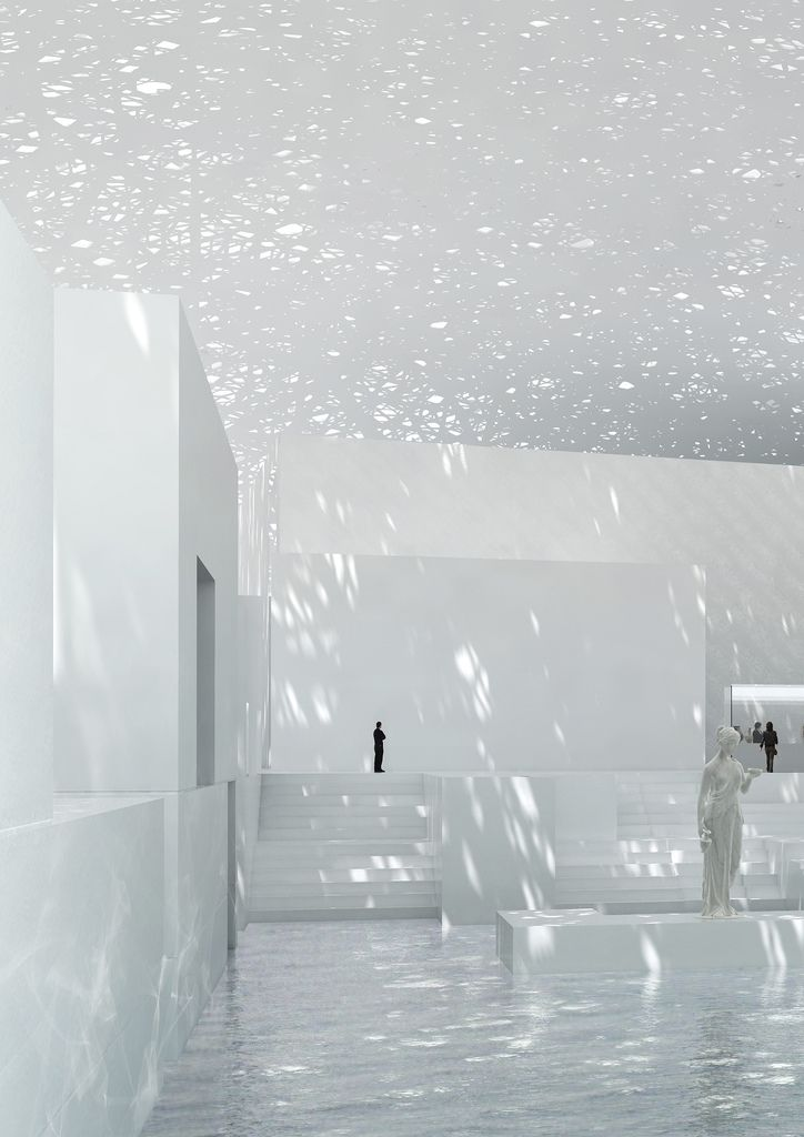 Jean Nouvel - Louvre Museum, Abi Dhabi, United Arab Emirates