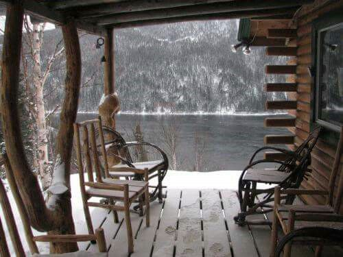 Cabin By The Lake Comfy Porches Pinterest Cabin