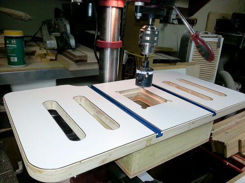 My Garage/Work Shop Makeover #14: New Drill Press Table - by MT_Stringer @ LumberJocks.com ~ woodworking community
