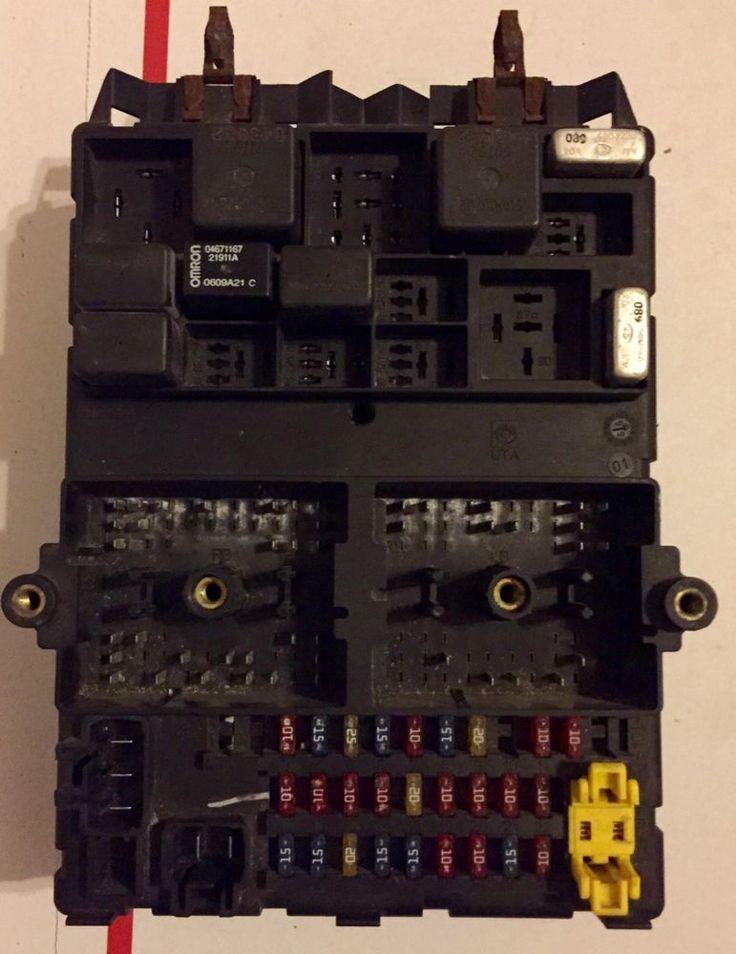 1999 2001 jeep grand cherokee bcm body control module fuse. Black Bedroom Furniture Sets. Home Design Ideas