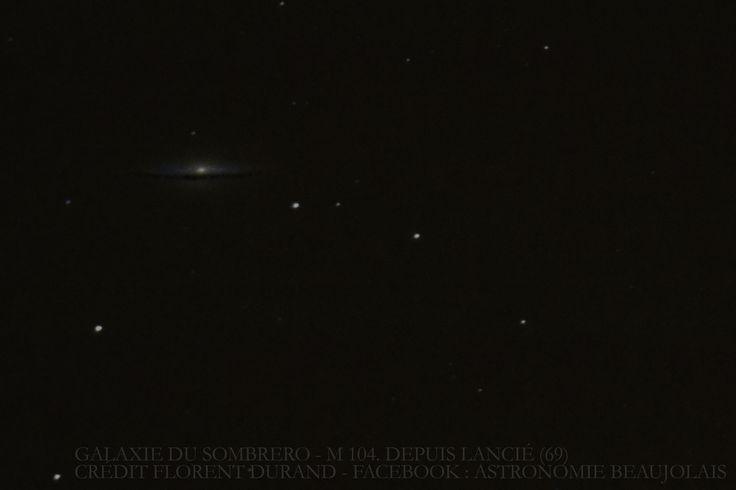 Galaxie du Sombrero. Juin 2015