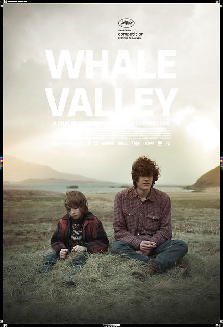 Hvalfjord/Whale Valley: Gudmundur A. Gudmundsson (IS, 2013) Poster art: unknown. Poster still: unknown. The film shows a strong bond between two brothers that live in a remote fjord with their parents. We look into their world through the eyes of the younger brother and follow him on a journey that marks a turning point in the brothers lives. http://www.dfi.dk/faktaomfilm/film/da/82584.aspx?id=82584