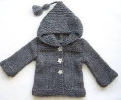 Résultats de recherche d'images pour «tricot pour bébé patron gratuit»