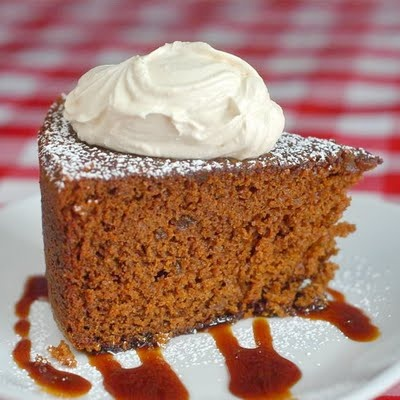 Triple Ginger Gingerbread Cake.  (Click onto links)